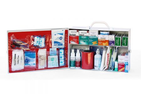 First Aid Kits, Cabinets and Bags
